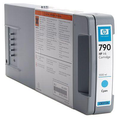 ��������� �������� HP HP 790 1000 ml Cyan Ink Cartridge CB272A