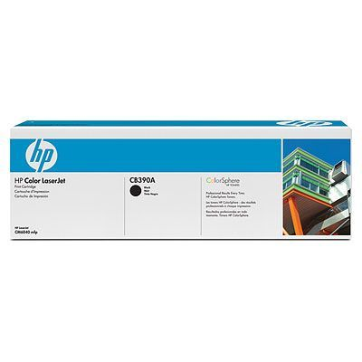 Расходный материал HP Color LaserJet CB390A Contract Black Print Cartridge CB390AC
