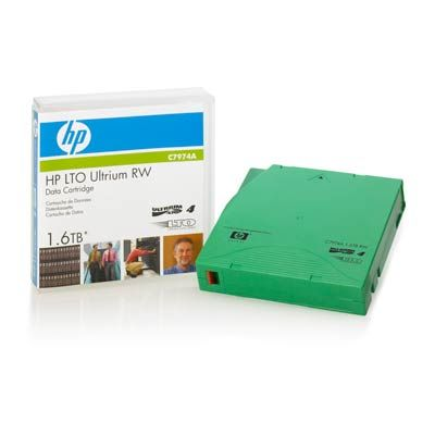 Расходный материал HP LTO4 Ultrium 1.6TB rw Data Tape C7974A