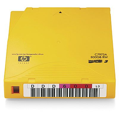 Расходный материал HP Ultrium 800GB Non-Custom Label 20 Pk C7973AN