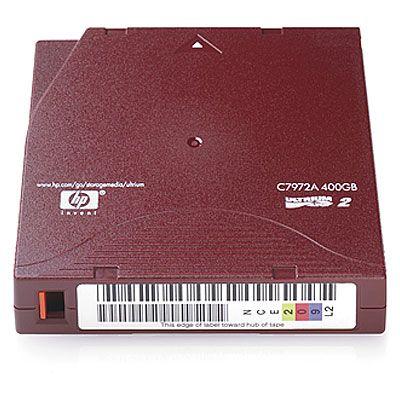 Расходный материал HP Ultrium 400GB Non-Custom Label 20 Pk C7972AN