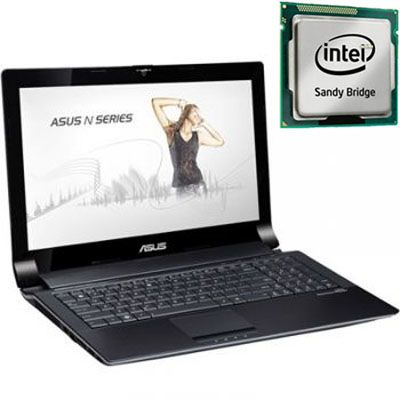 Ноутбук ASUS N53SV i3-2310M Windows 7 /3Gb /320Gb 90N1QA768W6A76RDH3AY