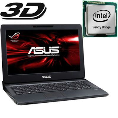 Ноутбук ASUS G53Sw i7-2630QM Windows 7 /750Gb 90N3HAD12W159AVD73AY