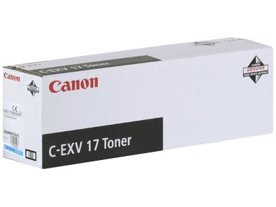 Тонер Canon C-EXV 17 Cyan/Голубой (0261B002)