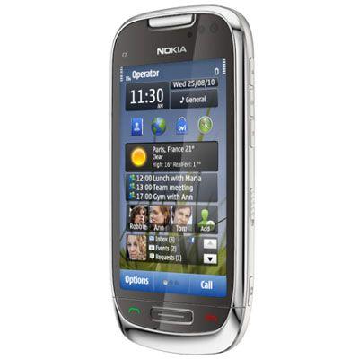 Смартфон, Nokia C7-00 Frosty Metal