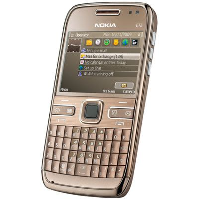 Смартфон, Nokia E72-1 Navi Topaz Brown