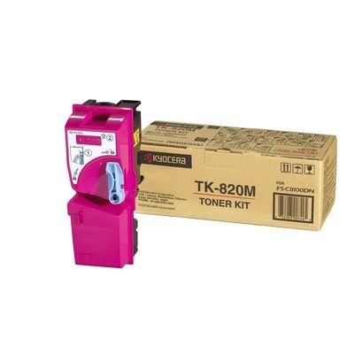 Тонер-картридж Kyocera FS-C8100DN Magenta/Пурпурный (TK-820M)