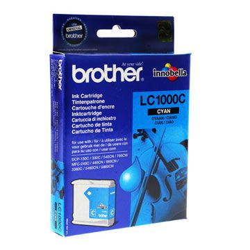 ��������� �������� Brother �������� Brother LC1000C Cyan, 400 pages LC1000C