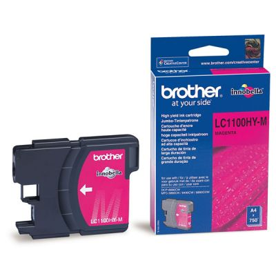 ��������� �������� Brother �������� Brother LC1100_HYM DCP-6690CW ������� (Magenta), 750 ���. LC1100HYM