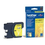 ��������� �������� Brother �������� Brother LC1100_HYY DCP-6690CW ������ (Yellow), 750 ���. LC1100HYY