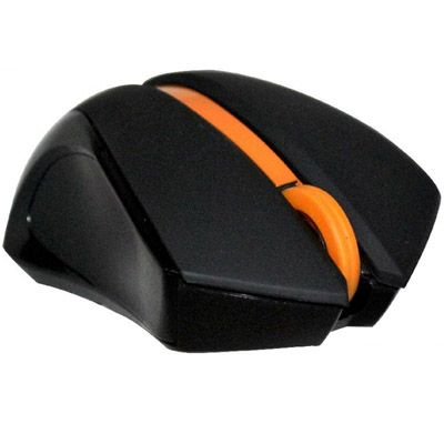 Мышь беспроводная A4Tech G9-310-4 USB Black + Orange