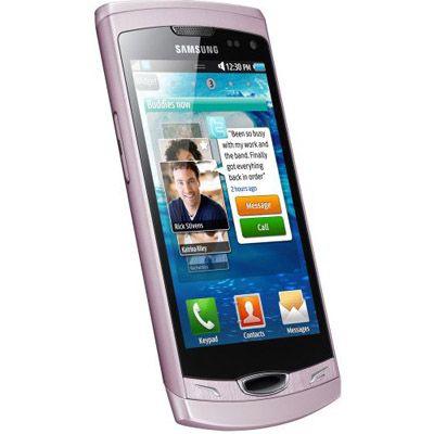 Смартфон, Samsung GT-S8530 Wave II Pink