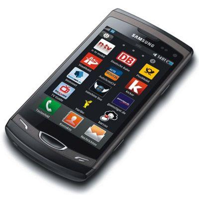 ��������, Samsung GT-S8530 Wave II Black