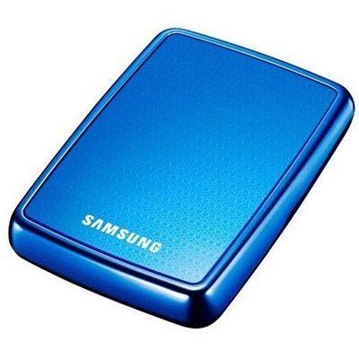 "Внешний жесткий диск Samsung S2 Portable 2.5"" 500Gb USB 2.0 Ocean Blue HXMU050DA/E82/G82"