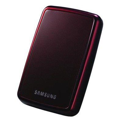 """������� ������� ���� Samsung S2 Portable 2.5"""" 500Gb USB 2.0 Wine Red HXMU050DA/E42/G42"""