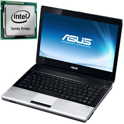 Ноутбук ASUS U41Sv i3-2310M Windows 7 (Silver) 90N4JA454W1515VD73AY