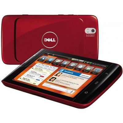 Планшет Dell Streak Tablet Cherry Red 16Gb 210-32521-002