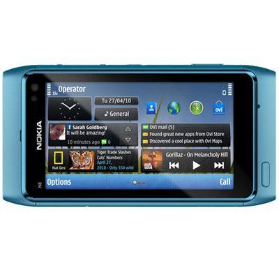 Смартфон, Nokia N8 Blue