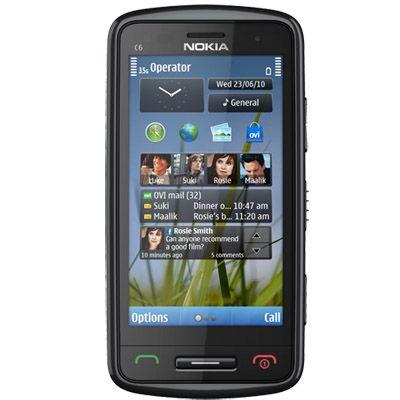 Смартфон, Nokia C6-01.3 Black