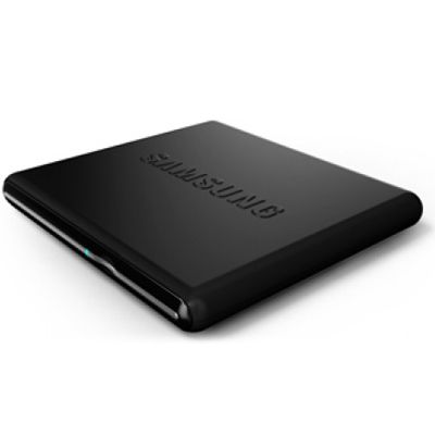 Samsung Внешний привод DVD-RW tray ext. USB2.0 Black Slim Super Multi SE-S084D/TSBS
