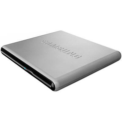 Samsung Внешний привод DVD-RW tray ext. USB2.0 Silver Slim Super Multi SE-S084D/TSSS
