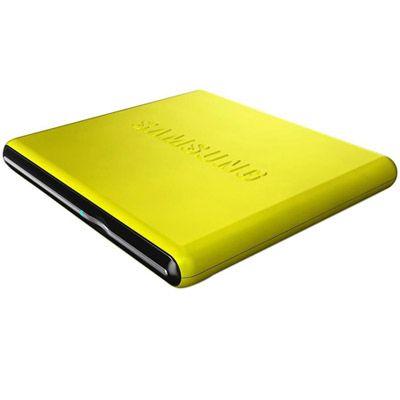 Samsung Внешний привод DVD-RW tray ext. USB2.0 Yellow Slim Super Multi SE-S084D/TSYS