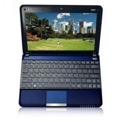 Ноутбук MSI Wind U135DX-2656 Blue
