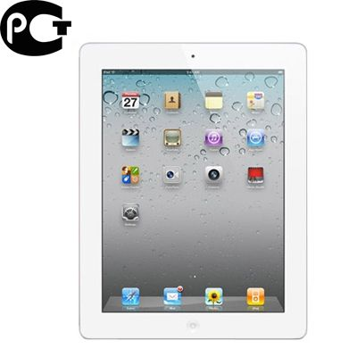 Планшет Apple iPad 2 Wi-Fi + 3G 16Gb White MC982RS/A