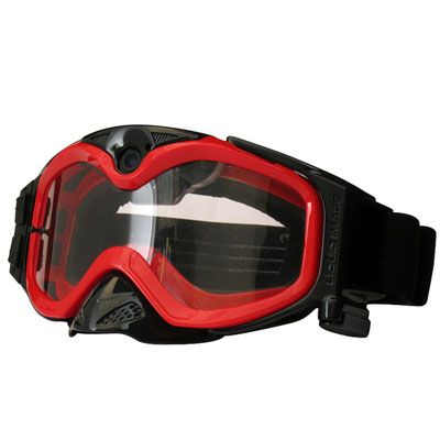 Liquid Image ��������������� �����-����� LIC365R Impact Series Offroad Goggle Cam (Red) Hydro