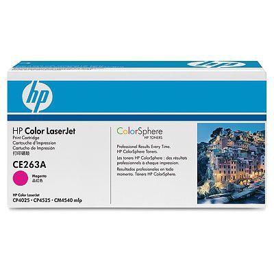 Расходный материал HP Color LaserJet CE263A Contract Magenta Print Cartridge CE263AC