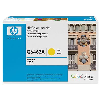Расходный материал HP Color LaserJet Q6462A Contract Yellow Print Cartridge Q6462AC