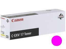 Тонер Canon C-EXV 17 Magenta/Пурпурный (0260B002)