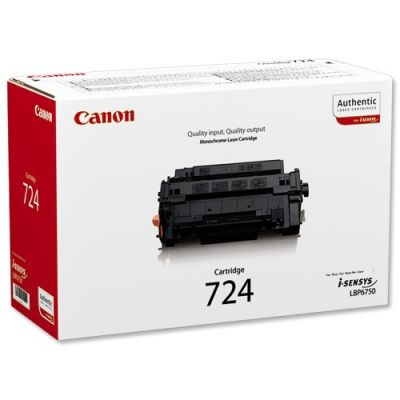 Картридж Canon 724 Black/Черный (3481B002)