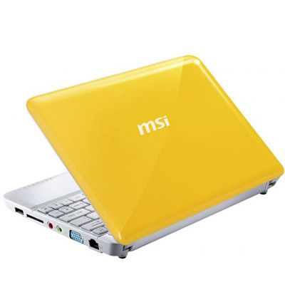 ������� MSI Wind U135DX-2676 Yellow