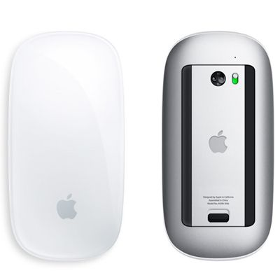 Мышь Bluetooth Apple беспроводная cенсорная Magic Mouse MB829ZM/A, MB829ZM/B
