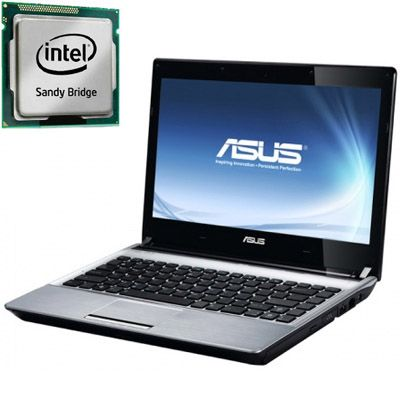 Ноутбук ASUS U30SD i3-2310M Windows 7 90N3ZAB44W1522VD53AY