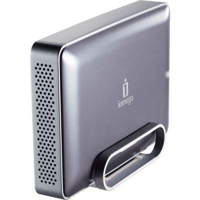 """Внешний жесткий диск Iomega USB 1Tb 3.5"""" eGo Desktop, Mac Edition, FireWire 800, Silver 34795"""
