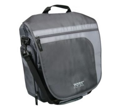"Сумка Port Designs Brighton Messenger Bag grey 10"" 160014"