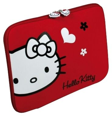 "Чехол Port Designs Hello Kitty Skin Red Flowers 15.6"" HKNE15RE"