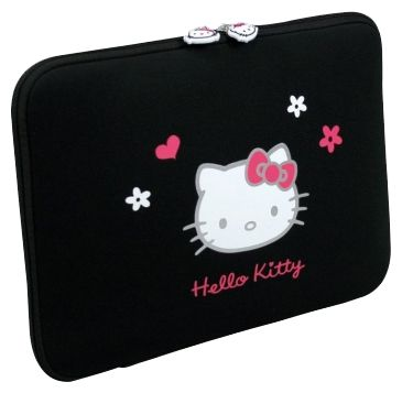"Чехол Port Designs Hello Kitty Skin Black Flowers 10/12"" HKNE11BL"