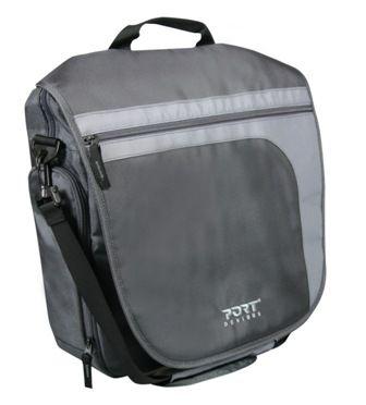 """Сумка Port Designs Brighton Messenger Bag grey 15 4"""" 160012"""