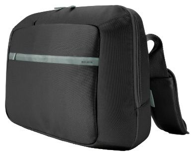 "Сумка Belkin Core Messenger Bag, Pitch Black/Soft Grey 15,6"" F8N112eaKSG"