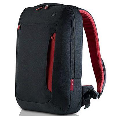 "������ Belkin Casual Backpack, Jet/Cabernet 15.6"" F8N256eaBR"