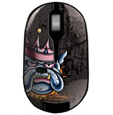 "Мышь беспроводная Ed Hardy Pro Wireless Mouse ""King Dog"" MO09B08F"