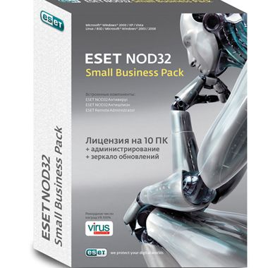 ��������� ESET eset NOD32 small Business Pack