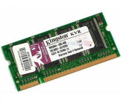 Оперативная память Kingston sodimm 512MB 400MHz ddr CL3 KVR400X64SC3A/512