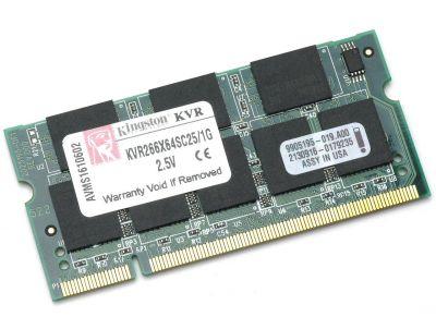 Оперативная память Kingston sodimm 1GB 266MHz ddr CL2.5 KVR266X64SC25/1G