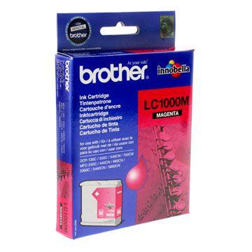 Картридж Brother Magenta/Пурпурный (LC1000M)