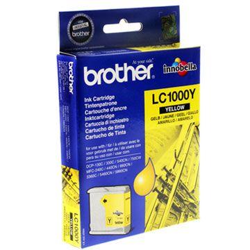 Картридж Brother Yellow/Желтый (LC1000Y)
