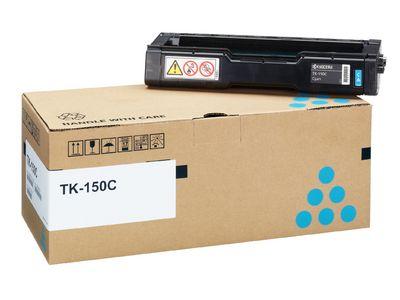 Тонер-картридж Kyocera Cyan/Голубой (TK-150C)